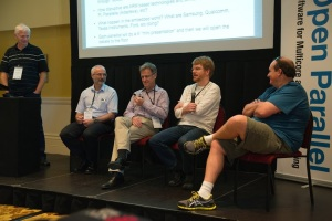 Panel - Paul McKenney (IBM), Ian Foster (Argonne), Poul-Henning Kamp (FreeBSD), Mark Moir (Oracle)